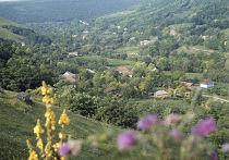 Вид на село Наславча