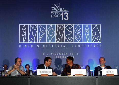 Конференция Всемирной торговой организации на Бали. Фото с места события