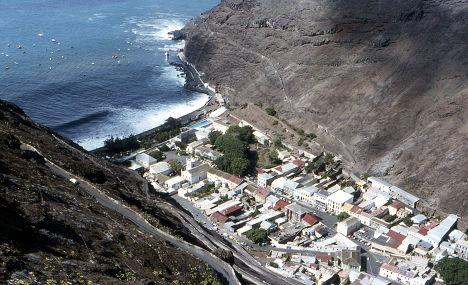 Город Джеймстаун на острове Святой Елены