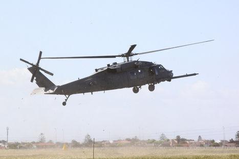 Американский вертолет Blackhawk