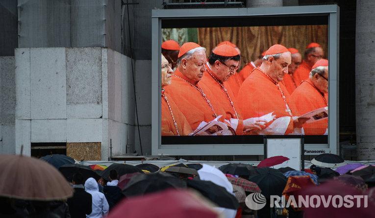 Голосование конклава кардиналов