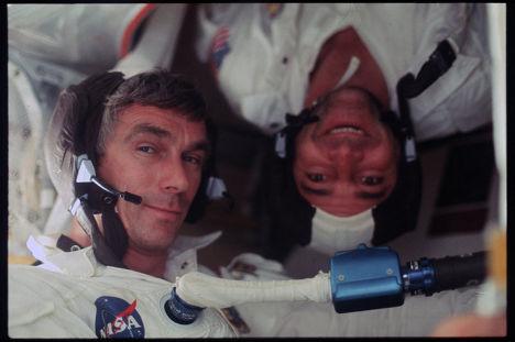 Астронавты Юджин Сернан и Рональд Эллвин Эванс. Программа Аполлон 17