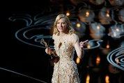 """Актриса Кейт Бланшетт на 86-й церемонии вручения премии """"Оскар"""""""