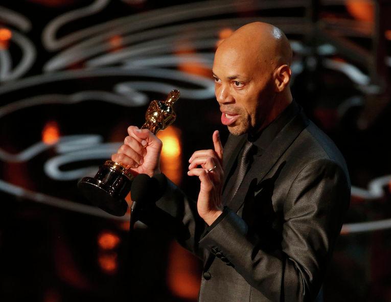 """Сценарист Джон Ридли на 86-й церемонии вручения премии """"Оскар"""""""