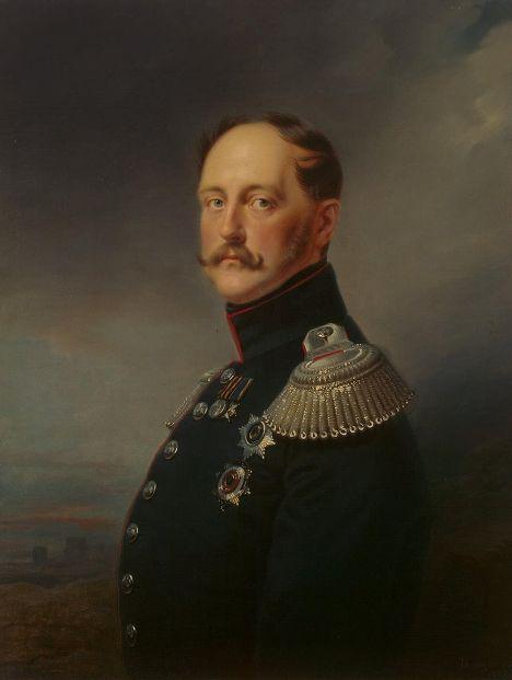 Франц Крюгер «Портрет императора Николая I», 1852