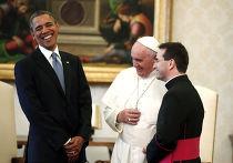 Встреча Барака Обамы с папой Франциском в Ватикане