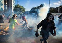Протесты в Каракасе