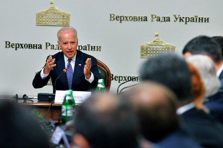 Визит вице-президента США Джозефа Байдена в Киев. 22 апреля 2014