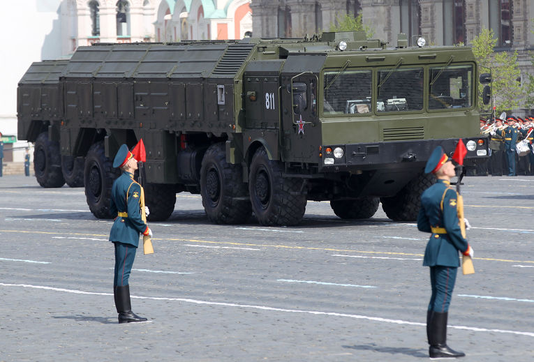 Пусковые установки ракетного комплекса «Искандер-М»