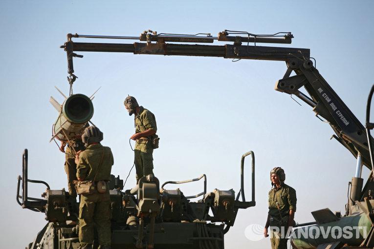 Учения войск ПВО на полигоне Капустин Яр