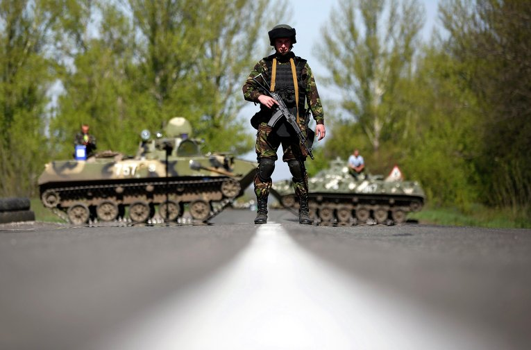 На востоке Украины казаки превращаются в мощную силу