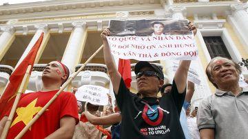 Антикитайские протесты в Ханое