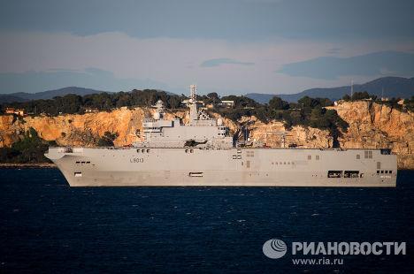 Универсальный десантный корабль «Мистраль» ВМС Франции