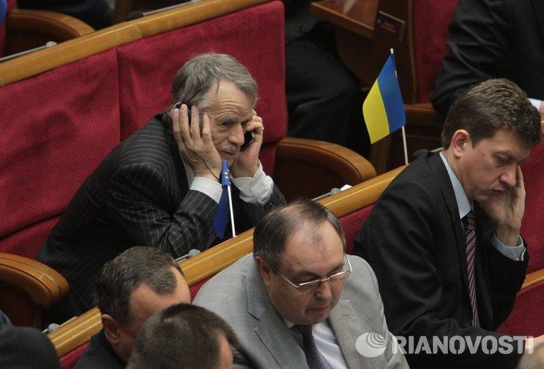 Экс-глава крымско-татарского Меджлиса Мустафа Джемилев