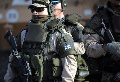 Финские военнослужащие в Афганистане