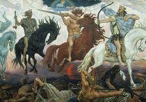 В.М. Васнецов «Воины Апокалипсиса», 1887