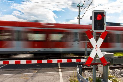 Красный свет на переезде