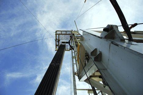 Производство сланцевого газа в США