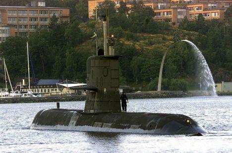 Подводная лодка флота Швеции