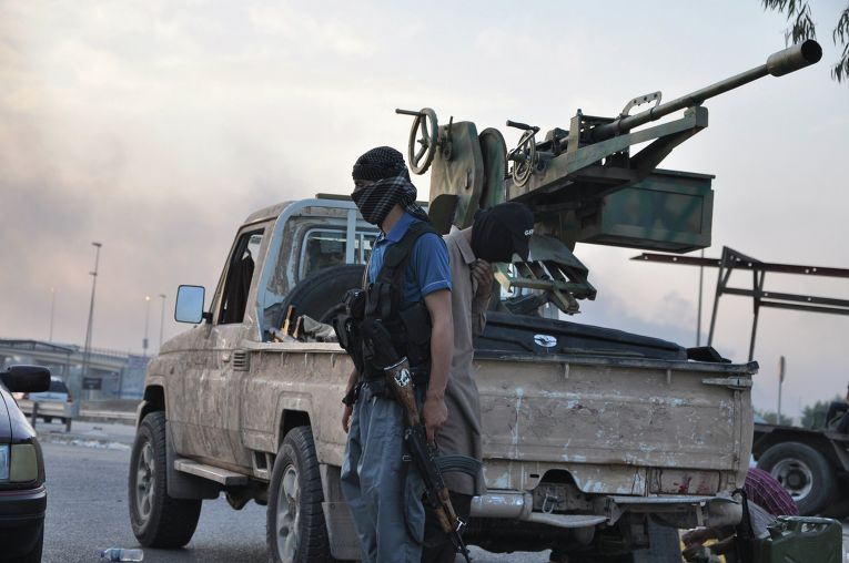 "Боевики группировки ""Исламское государство Ирака и Леванта""."
