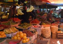 Рынок в городе Гори