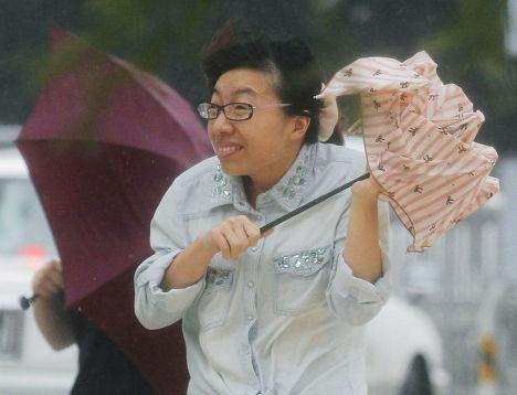 Тайфун «Неогури» в Японии