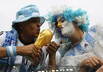 Болельщики из Аргентины на Чемпионате мира по футболу в Бразилии