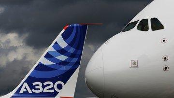 Самолеты Airbus на авиасалоне в Фарнборо