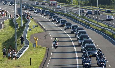 Тела погибших в авиакатастрофе на Украине доставлены в Нидерланды