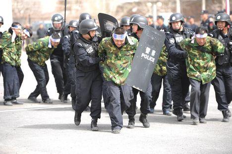 Антитеррористическая операция в городе Урумчи Синьцзян-Уйгурского автономного округа