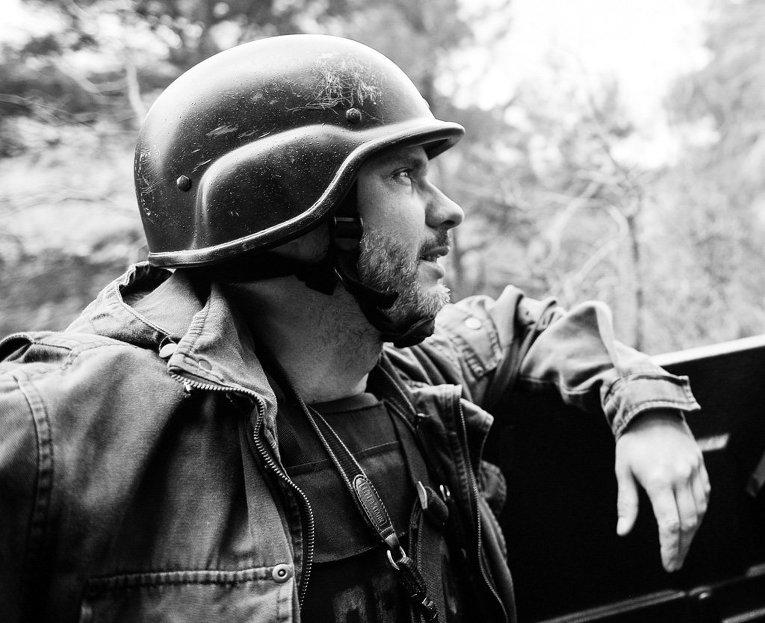 """Фотокорреспондент МИА """"Россия сегодня"""" Андрей Стенин"""