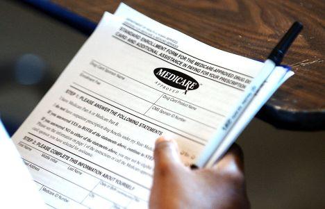 Заявление Medicare на выдачу лекарств