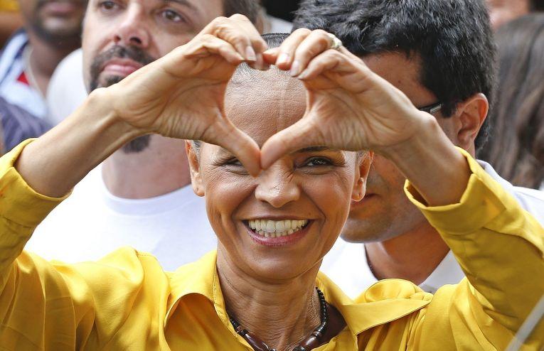 Кандидат в президенты Бразилии Марина Силва
