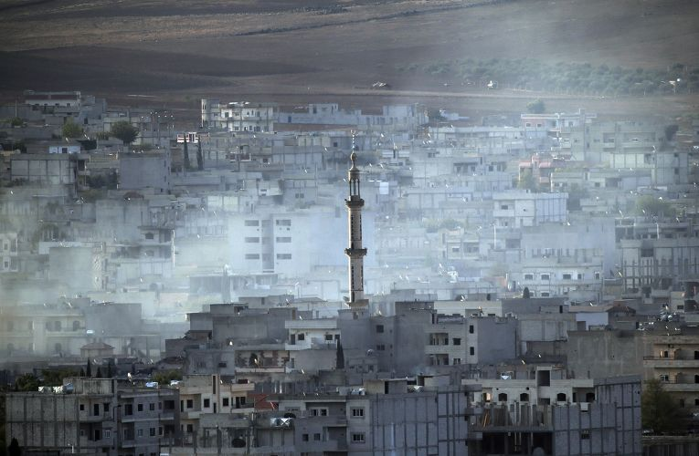 Бои в Кобани