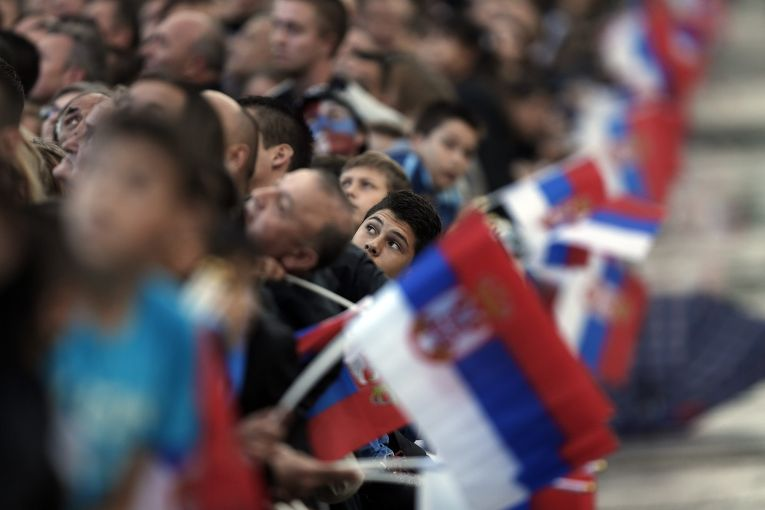 Военный парад в Белграде