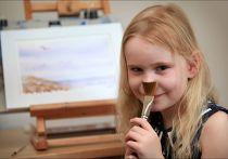 5-летняя Хайди Хенкинс с IQ около 159 баллов была принята в общество Менса