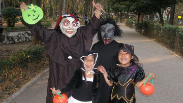 Празднование Хэллоуина в Мексике