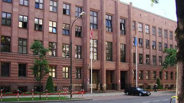 Здание МИДа Польши в Варшаве