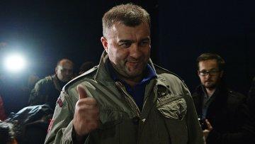 Актер Михаил Пореченков посетил Донецк