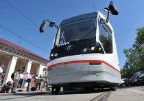Презентация нового низкопольного трамвая