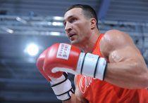 Владимир Кличко тренируется перед боем с Кубратом Пулевым