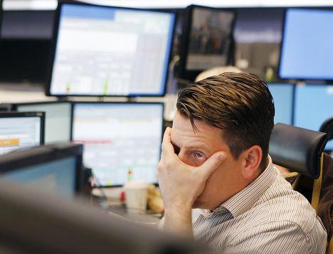 Фондовая биржа во Франкфурте, Германия