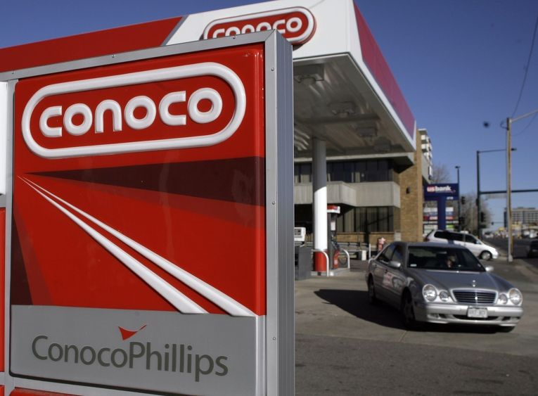 Автозаправка Conoco Phillips в Денвере