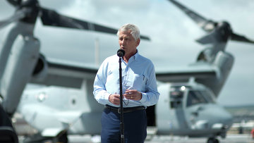 Министр обороны США Чак Хейгел