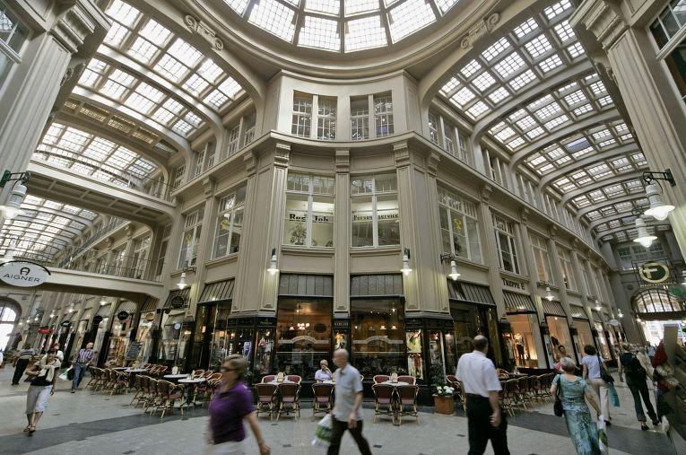 Торговый центр в Лейпциге