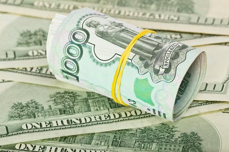 Рубль к доллару