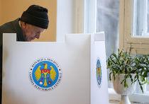 Голосование на парламентских выборах в Кишиневе