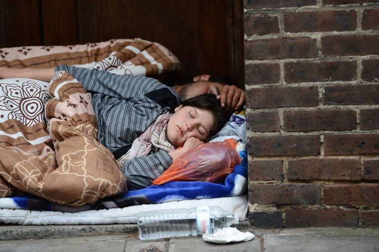 Румынские иммигранты в Лондоне