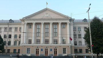 Здание городского совета Запорожья