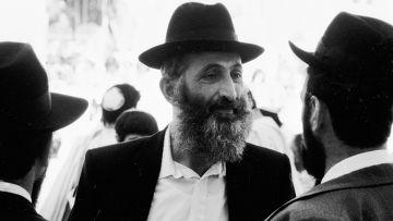 Ортодоксальные евреи на улице Иерусалима